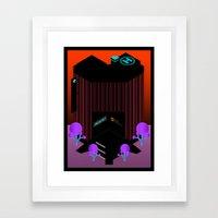 City Hospital Framed Art Print