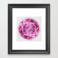 the pinkest  Framed Art Print