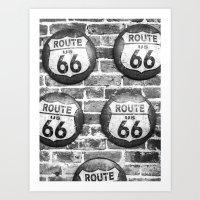 Route 66 Art Print