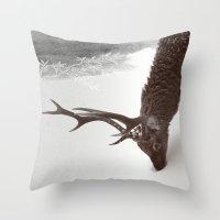 Tender Creature  Throw Pillow