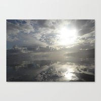Reflections After The St… Canvas Print