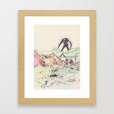 third angel Framed Art Print