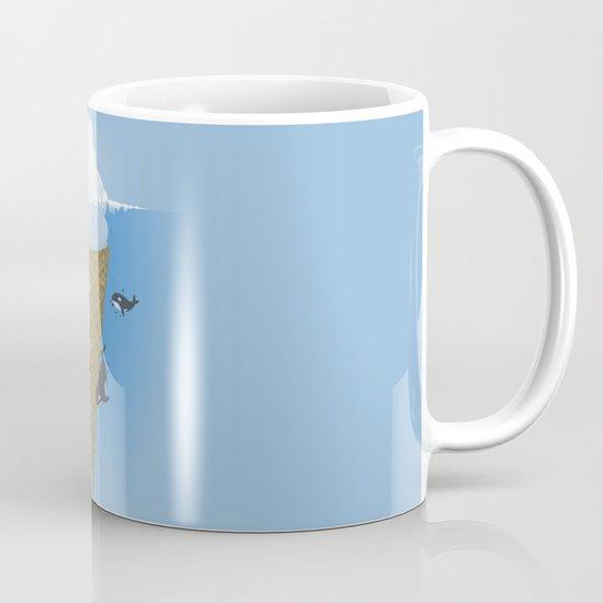 Hidden part of icebergs Mug