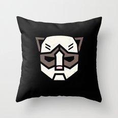 Grumpybot Throw Pillow