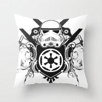 Storm Trooper Coat Of Ar… Throw Pillow