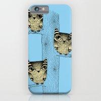 Owls (blue) iPhone 6 Slim Case