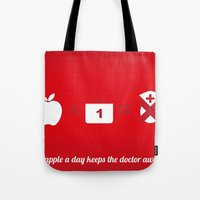 An Apple A Day Keep The … Tote Bag