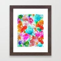 Koi Pond, Water Lilly Framed Art Print