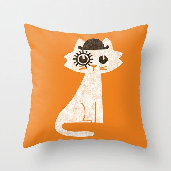 Mark - in clockwork orange fashion Throw Pillow
