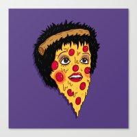 Pizza Minnelli Canvas Print