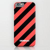 Infrared Lines / Black iPhone 6 Slim Case