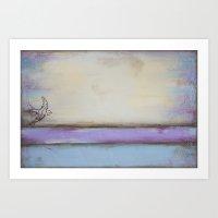 Flight II - Pastel Color… Art Print