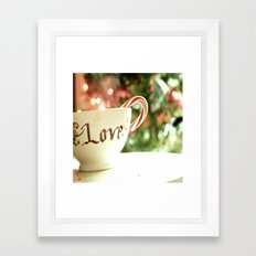 All the Things I Love Framed Art Print