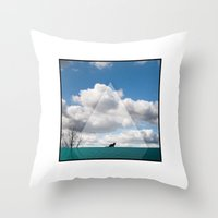 Wait It Out Throw Pillow