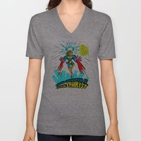 We Need A Hero To Fight … Unisex V-Neck