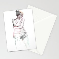 Liberate Yourself - Figure Study Stationery Cards