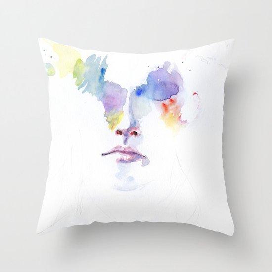 headlights eyes Throw Pillow