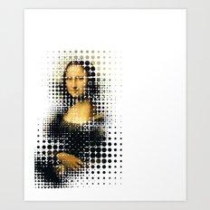 Modern Mona Art Print