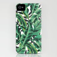 Tropical Glam Banana Lea… iPhone (4, 4s) Slim Case