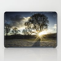 A Winters Sunset iPad Case