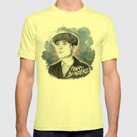 Tommy Shelby Mens Fitted Tee Lemon SMALL