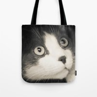 What do you think Mr Cat? Tote Bag