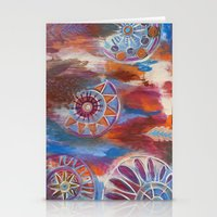 Abstract Mandalas Stationery Cards