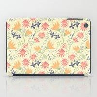Autumn Floral Pattern iPad Case