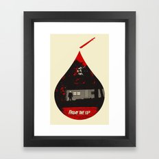 Horror Icons: Friday The 13th Framed Art Print