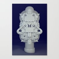 Pearly Canvas Print