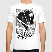 West Rise To Frame Mens Fitted Tee White SMALL