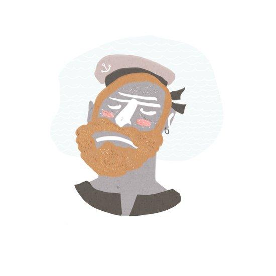 Sailor I Art Print