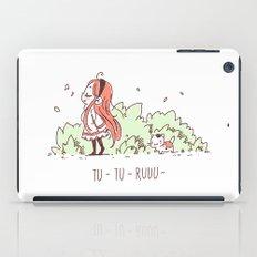 Tu Tu Ruuu iPad Case