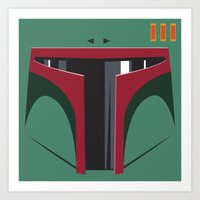 Boba Fett - Starwars Art Print