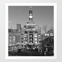 Barnes and Nobles, Baltimore Art Print