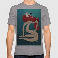 Luna Rossa Mens Fitted Tee Athletic Grey SMALL