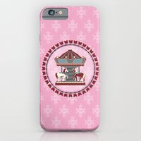iPhone & iPod Case featuring Merry Go 'Round by Alexis Chong