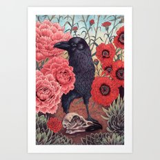 Crow Effigy Art Print