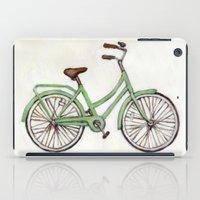 Bicycle / Green Cruiser iPad Case