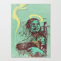 Guard II. Canvas Print