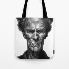 Clint Eastwood Tote Bag