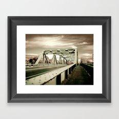 The Green Bridge Framed Art Print