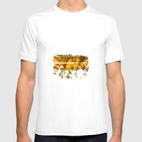 Vintage Lights Mens Fitted Tee White SMALL