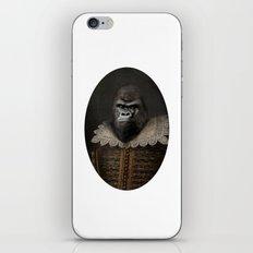 William Gorilla iPhone & iPod Skin