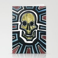 Sovereign Skull Stationery Cards