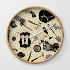 Artifacts: Walking Dead Wall Clock