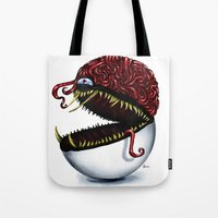 Evil pokeball  Tote Bag