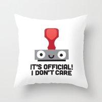 Nopetarized Throw Pillow