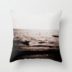Leave With Me, Across the Sea Throw Pillow