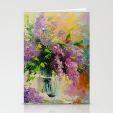 Lilac Bouquet Stationery Cards